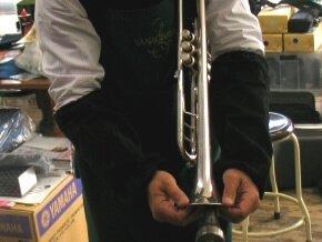 トランペット修理 管楽器修理